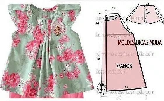 3375d1658dc Выкройка платья – сарафана с аппликацией на ребёнка 8 лет