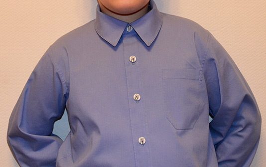 Мужская рубашка свободного силуэта