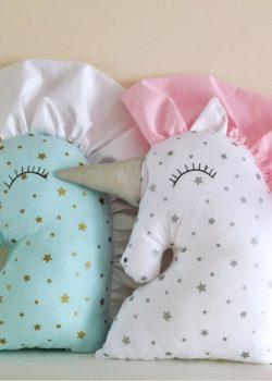 Подушка единорог