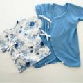 Выкройка распашонки для новорожденного: как легко сшить малышу первую рубашечку